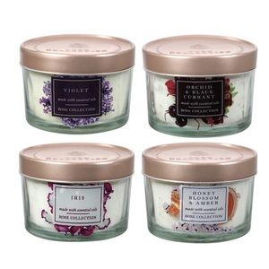 Rose collection scented candles collection